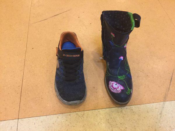 Sinterklaas en schoenen