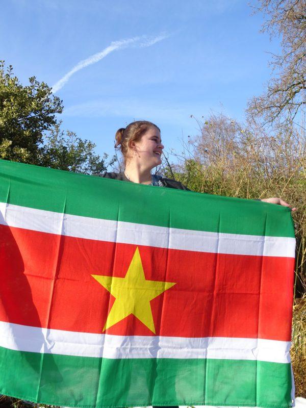 Juf Marinde naar Suriname