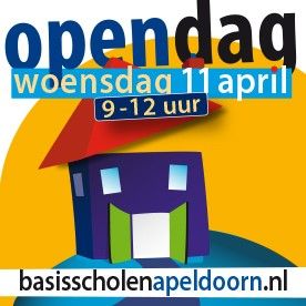 Woensdag 11 april: Open Dag