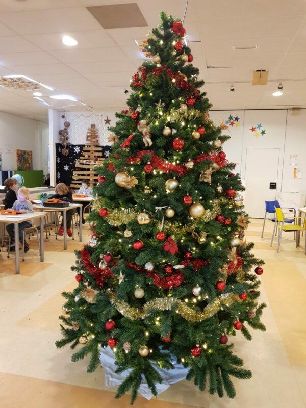Kerstdiner donderdag 20 december 2018 van 17.30-19.00