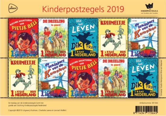 Kinderpostzegel actie gestart!